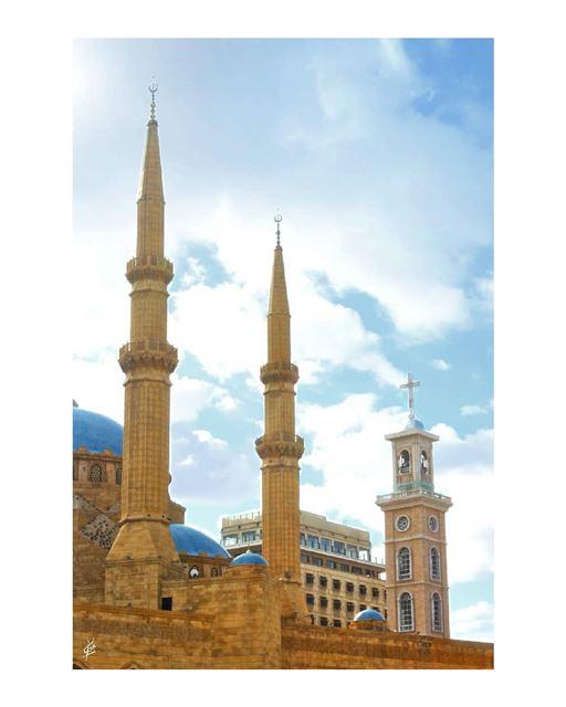 """""""ɪᴛ's ᴄᴏᴇxɪsᴛᴇɴᴄᴇ ᴏʀ ɴᴏ ᴇxɪsᴛᴇɴᴄᴇ."""" ʙᴇʀᴛʀᴀɴᴅ ʀᴜssᴇʟʟ. 🕌⛪ (Beirut, Lebanon)"""