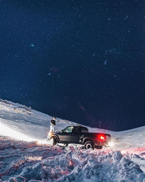 Night cruise.PS: it's not a recent picture...... livelovebeirut... (Faraya, Mont-Liban, Lebanon)