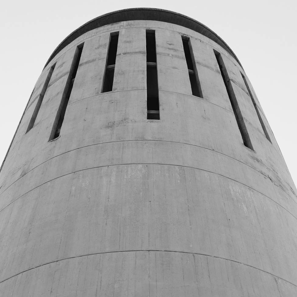 Black and White Mood architecture archilovers architectureporn ... (Rachid Karami International Fair)