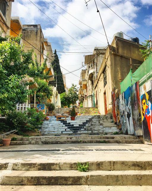 lebanon marmkhayel stairs instagood wanderlust travelgram ...
