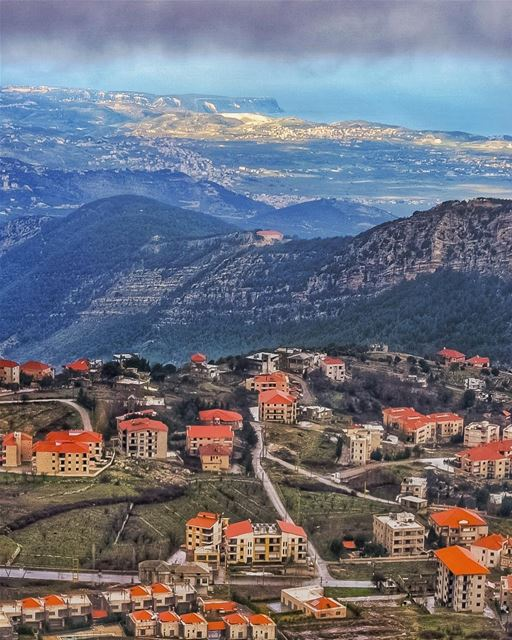 Even from the highest mountain when your vision & horizon are clear,The... (Saydet El Hosn - Ehden)