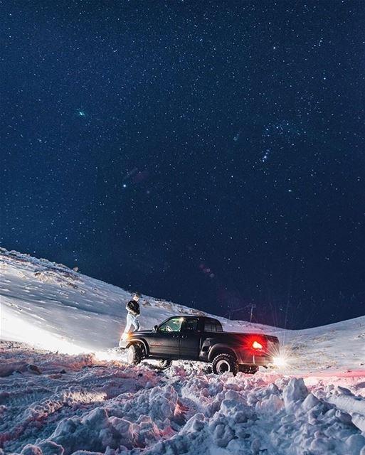 Stay Warm Everyone ❄️⛄️ 📷 @jadsafi... beirut lebanon faraya snow ... (Faraya, Mont-Liban, Lebanon)