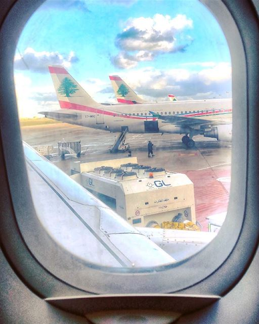 TGIF ✈️ tgif mea middleeastairlines ... (Beirut–Rafic Hariri International Airport)