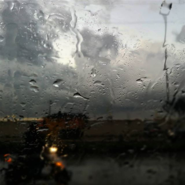 Rain - ichalhoub in Tripoli north Lebanon shooting with a mobile phone ...