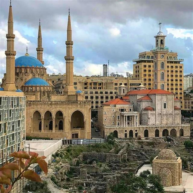 Together let us desire, conceive, and create the new structure of the... (Downtown Beirut)