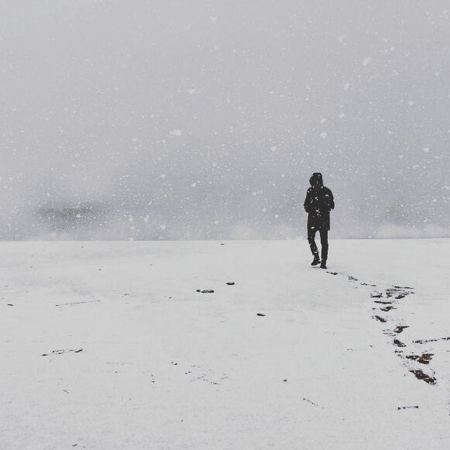 Footprints on the Snow ❄👣 (Zahlé District)