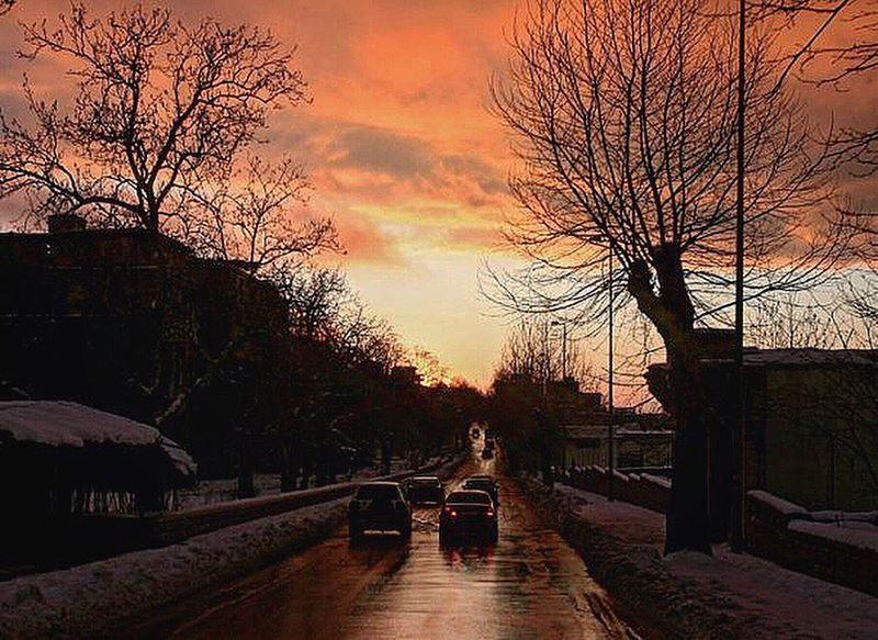 A dawn-like sunset.📍Sawfar, Mount Lebanon , Lebanon ..━ ━ ━ ━ ━ ━ ━ ━ ━ (Sawfar, Mont-Liban, Lebanon)