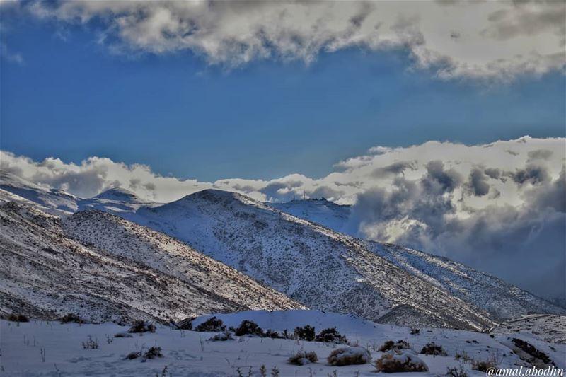 جبل_الشيخ_حرمون lebanon photography photographylovers photographyart... (Mount Hermon)