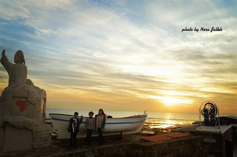 Beautiful sunset ❤❤ byblos livelovebyblos jbeil livelovelebanon...