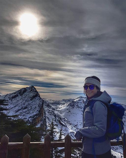 sun hunt or snow harmony? 🤔 nocaptioninmind 📸 @rawadthenomad... (Cedar Reserve Tannourine)
