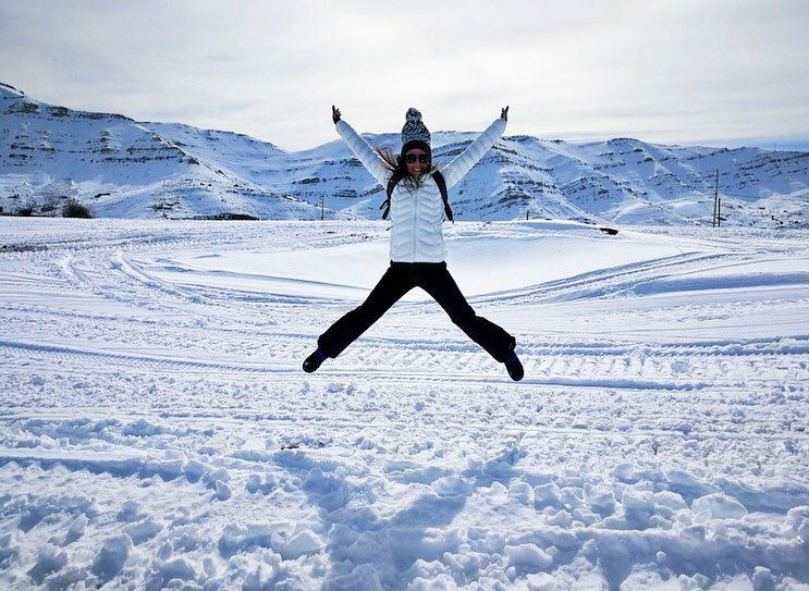 Snow ❄️ makes me a Happy Girl! (Arz Tannoûrîne)