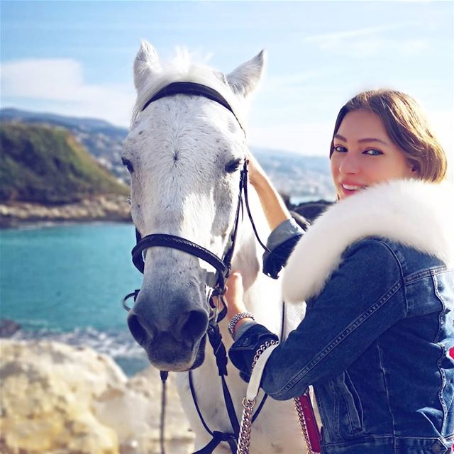 I would travel only by horse, if I had a choice! In love with this noble... (Jbeil جبيل)