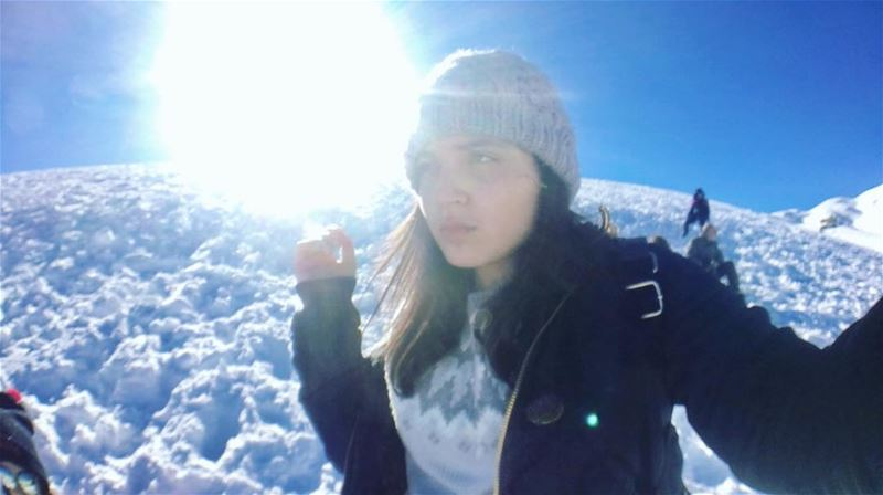 The future lies before you ,like a field of fallen snow ,Be careful how... (Mzaar Kfardebian)