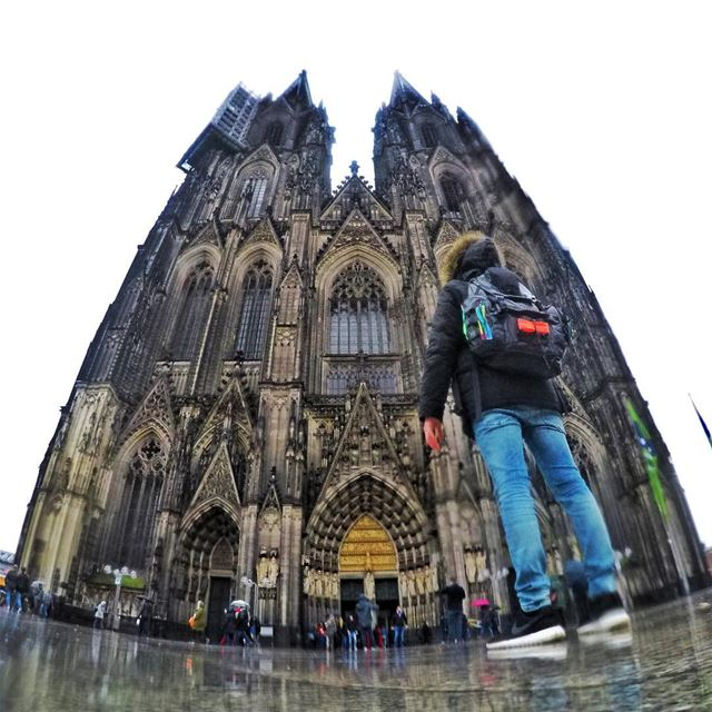 Like all travelers I have seen more than I remember, and remember more... (Cologne, Germany)
