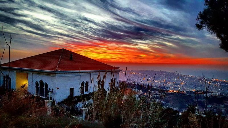 lebanon lebanon_hdr lebanon_hd lebanonnature sunset sunsets ... (Aïn Saâdé, Mont-Liban, Lebanon)