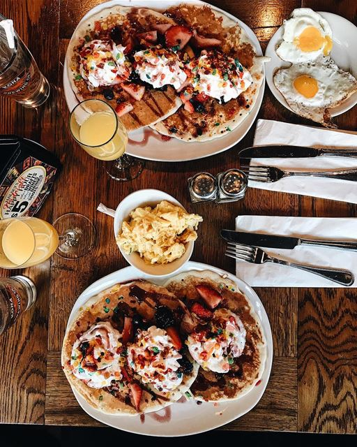 New York Brunch Rituals 🍳😍  NYC  NewYorkCity  NewYork  Astoria  love ... (Mom's)