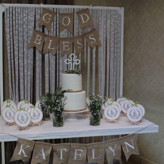 Happy Christening Katelyn 🌟Baptism by nid d'abeille christening angel ...