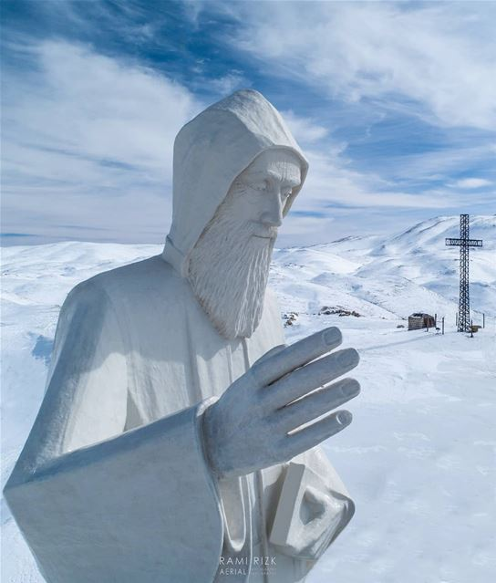 Protect Our Country 🇱🇧... faraya saintcharbel lebanon dji ... (Saint Charbel-Faraya)