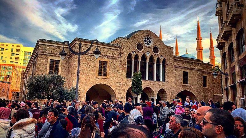 🕌⛪️ mosque church islam christianism lebanoninapicture WeAreLebanon... (Beirut, Lebanon)