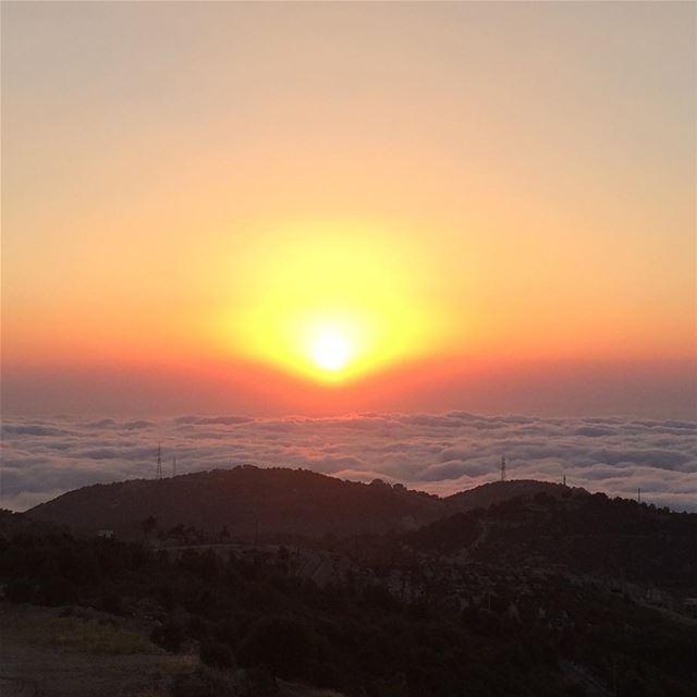 annaya marmaroun stcharbel saintsoflebanon sunsetoflebanon charbel ... (محبسة مار شربل _ عنايا)