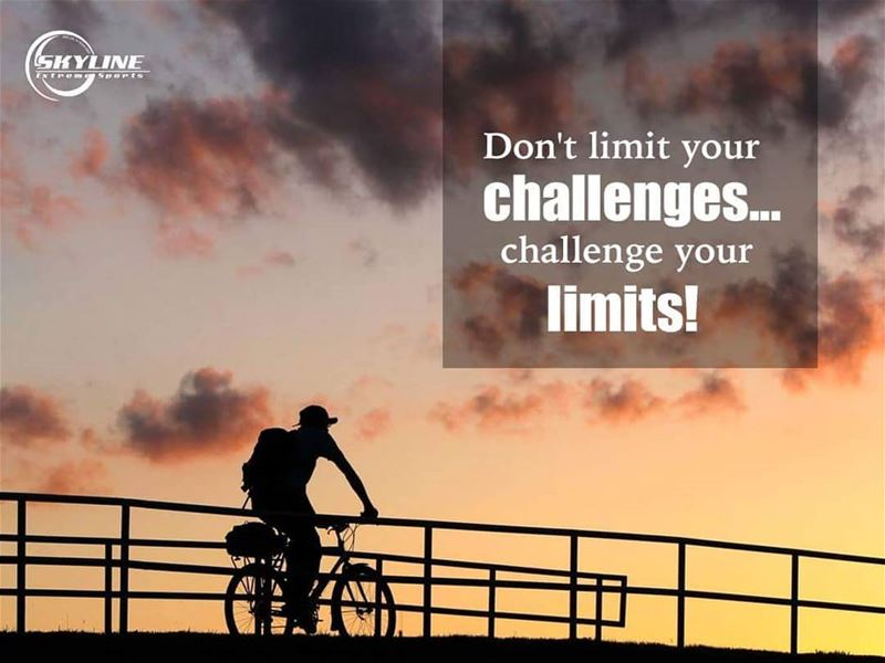 Don't limit your challenges... Challenge your limits!🚲Have a Pleasant...