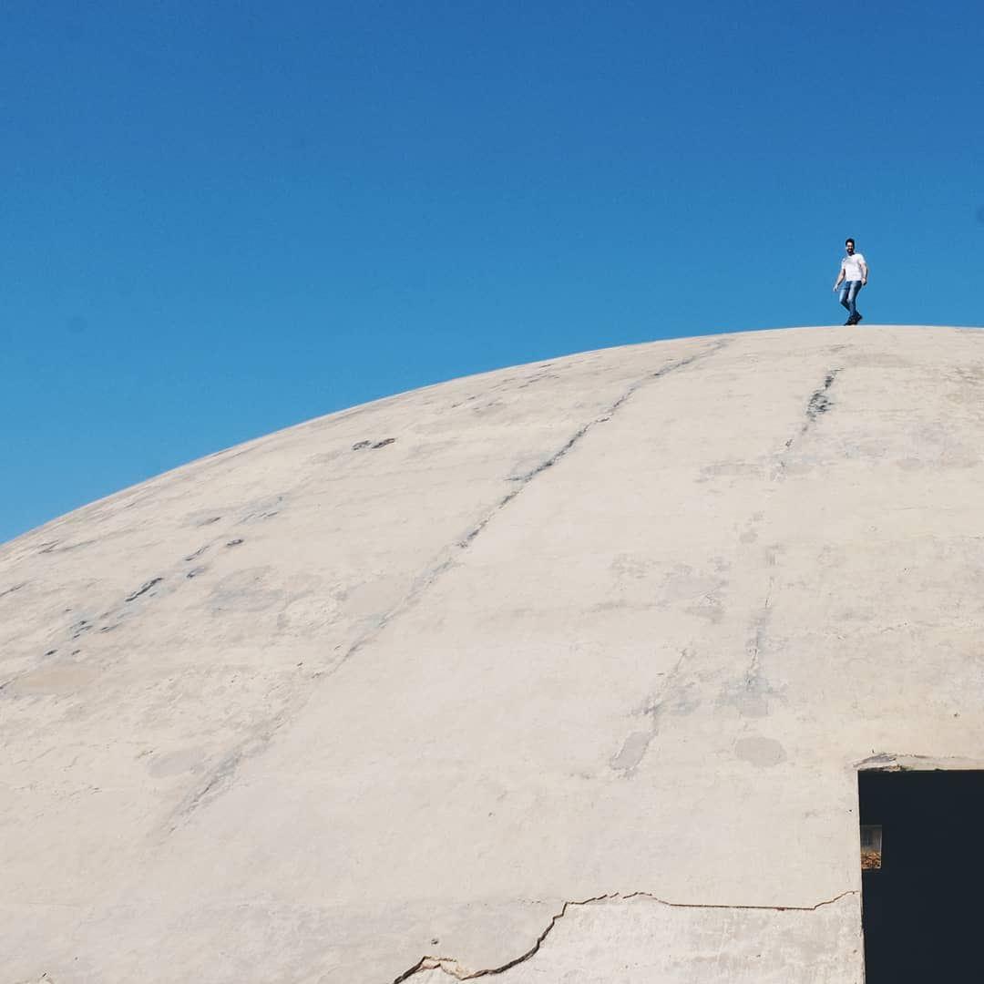 """Tiny people in big places"" minimal minimalove minimalexperience ... (Rachid Karami International Fair)"
