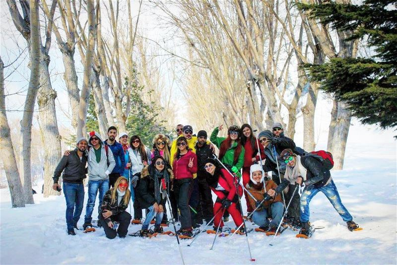 Join Sane family, be part of the group. Don't miss our next snowshoeing... (El Laklouk, Mont-Liban, Lebanon)