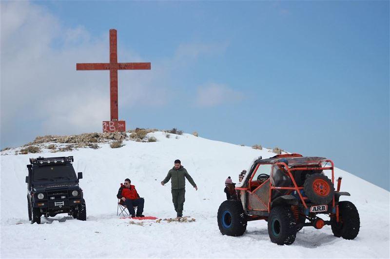 ❄️@extremenorth4x4... (Miziâra, Liban-Nord, Lebanon)
