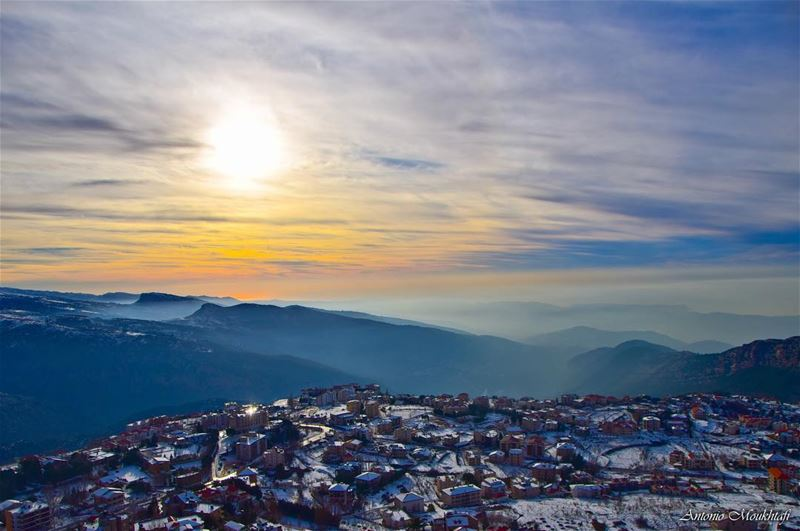Kindness is like snow—It beautifies everything it covers. Khalil... (Ehden, Lebanon)