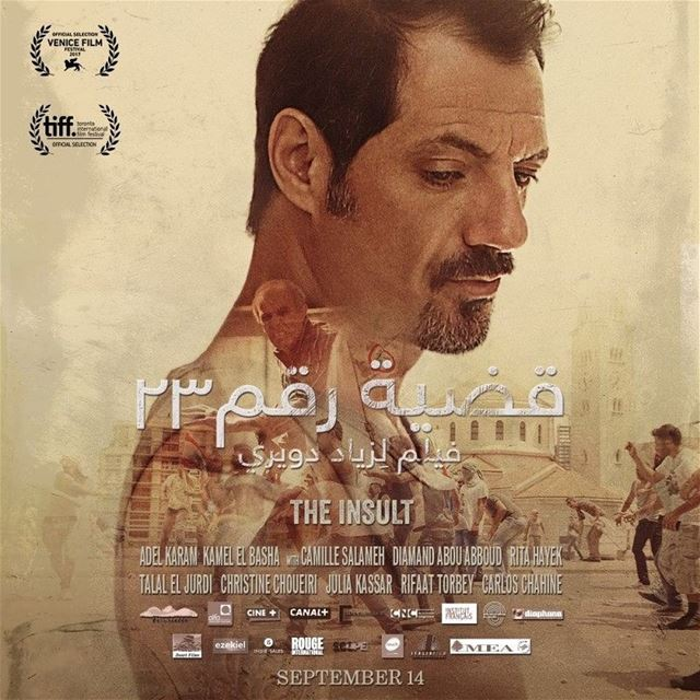 This is a historic day for Lebanese Cinema! The Insult @theinsultmovie has...