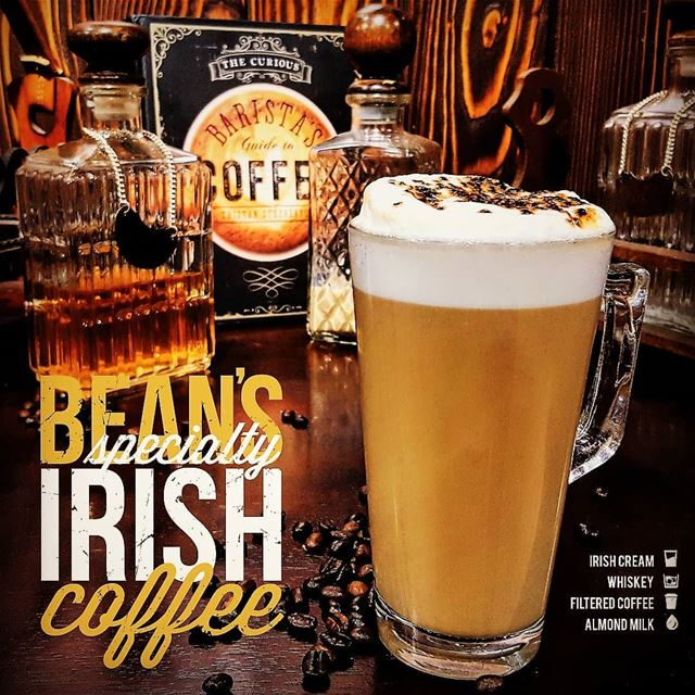 Yup, that's right! Whiskey, Irish cream, Coffee and Almond Milk!Our...