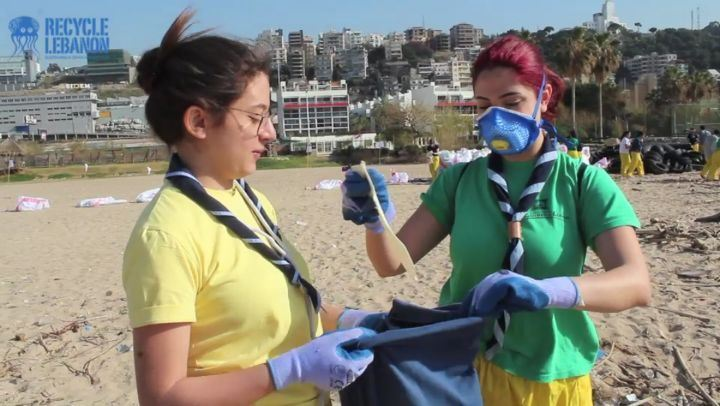 2017 annual BalaPlastic clean up of Zouk Mosbeh with Lebanese Scouts,...