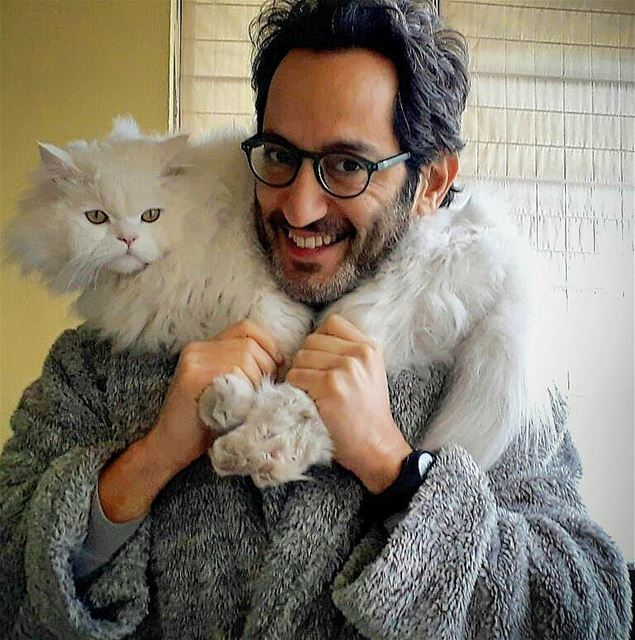 Best fur ever... My Saxo! 🐱💝 Ghassan_Yammine kittycat catslover ...