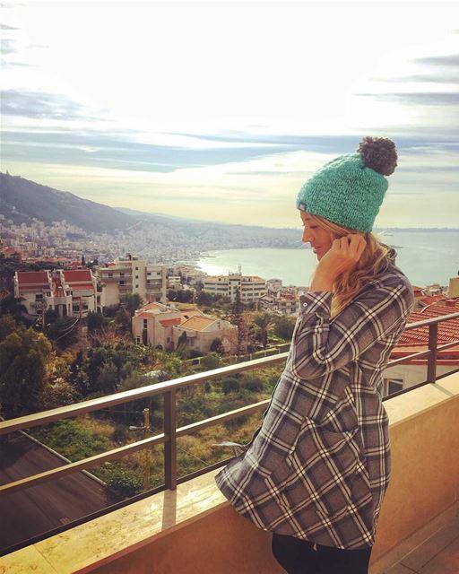 Life is always better with a Pom Pom 💚 goodmorning... goodmorninglebanon... (Adma, Mont-Liban, Lebanon)