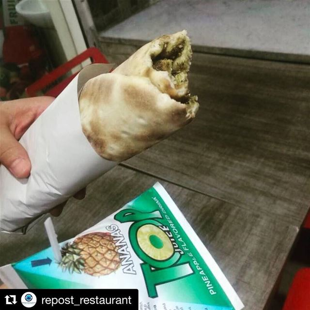 Repost @repost_restaurant with @get_repost・・・Always make sure you have... (Rashet somsom - رشة سمسم)