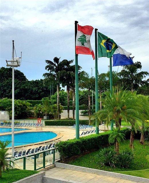 Repost @libano_brasil Hoje é comemorado o aniversário de São Paulo:... (Clube Atlético Monte Líbano)