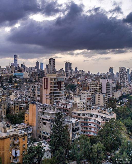 Rainy Days 🌧️... lebanon beirut dji drones quadcopter aerial ... (Beirut, Lebanon)