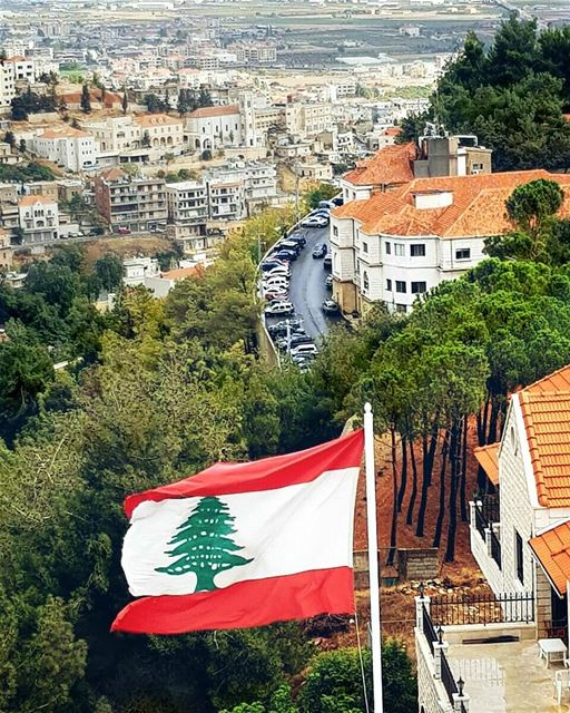 To survive in peace and harmony, united and strong, we must have one... (Zahlé, Lebanon)