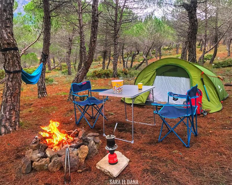 Would you join me? 🙈⛺️ (Baskinta, Lebanon)