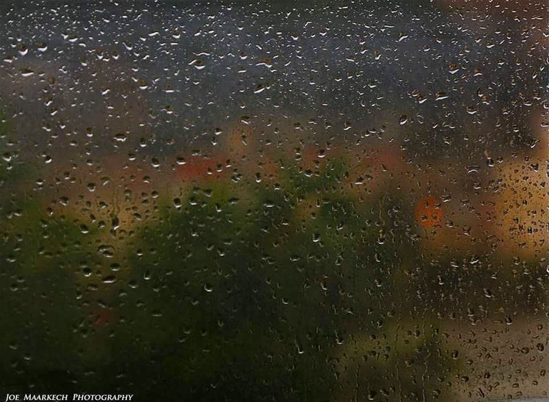 Wish you a warm night! winter rain cold lebanon igers photography ...