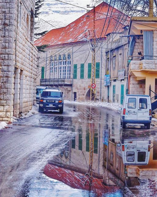 Life is truly a reflection of what we allow ourselves to see and be -... (Ehden, Lebanon)