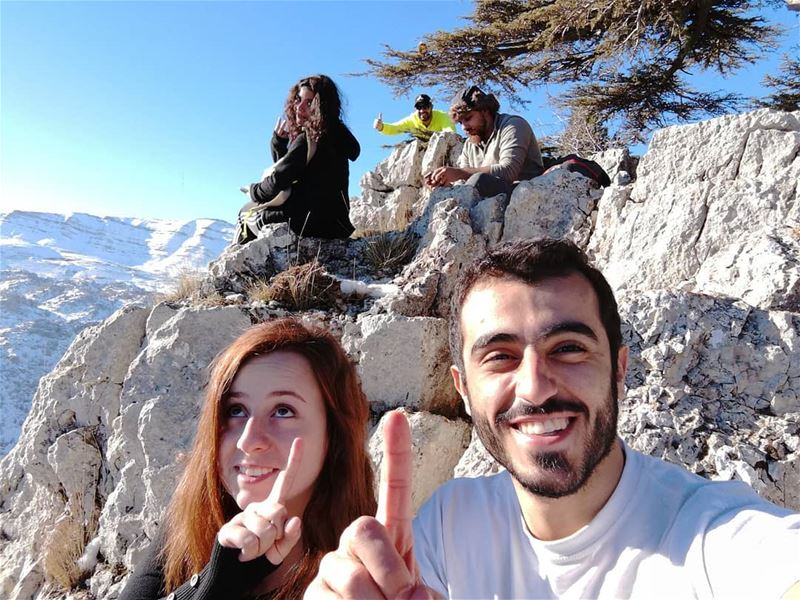 It is the way we enjoy our friendship that many fail to understand. ☮️... (Cedar Reserve Tannourine)