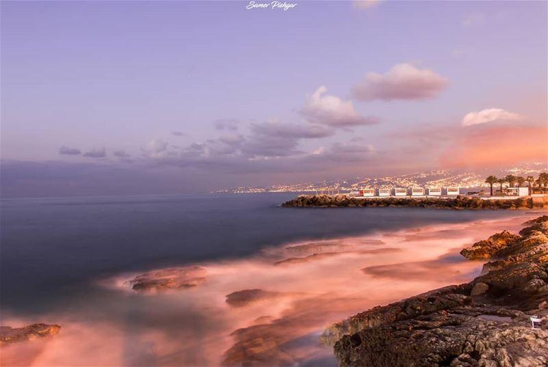 God's fingerprint..هو المصورToday's Beirut.... livelovebeirut ...