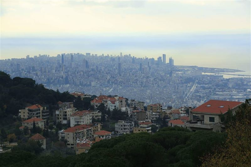 Panaromic Beirut from the Mountains... thisislebanon79 viewbug ... (Brummana)