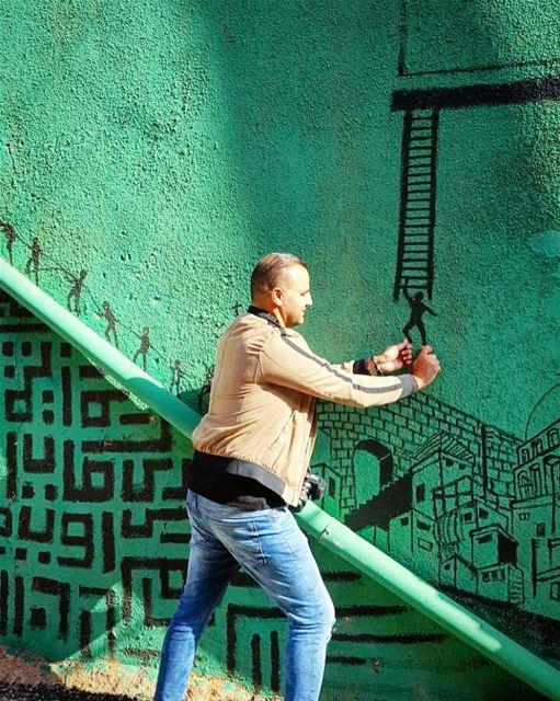 Stairway to Nowhere 🎯 sanelebanon 🍃... stairs stairway ... (Beirut, Lebanon)