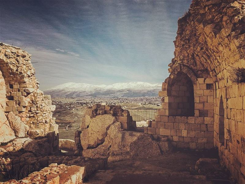 🇱🇧🏔️................ Lebanon livlovelebanon... (قلعة الشقيف)