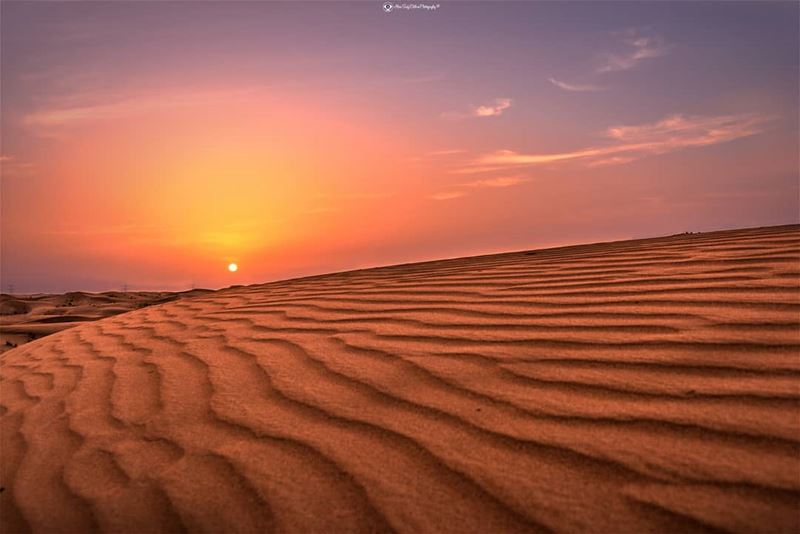 Every Sunset has its own colors and feelings..... landscape ... (Dubai, United Arab Emirates)