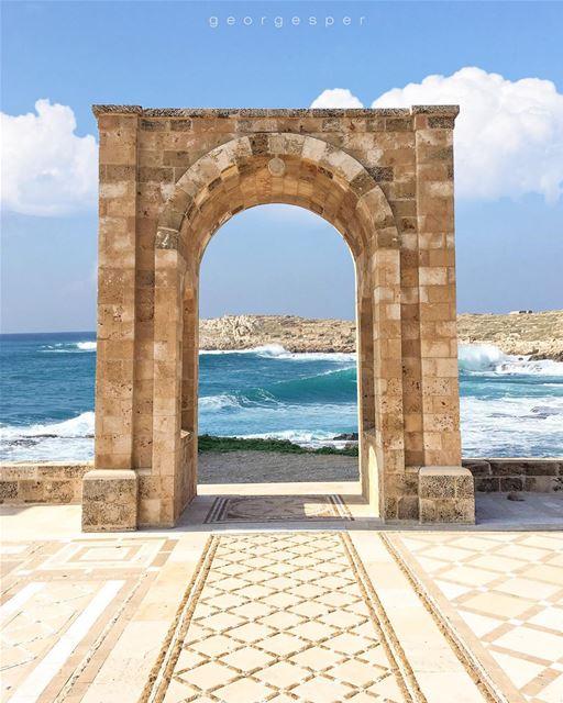 Happy Monday ☀️ Anfeh Seaside • Lebanon 🇱🇧..... beautifullebanon ... (Anfeh Al-Koura أنفه الكورة)