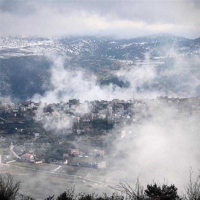 Winter camouflage ☁️ (Marjayoûn, Al Janub, Lebanon)