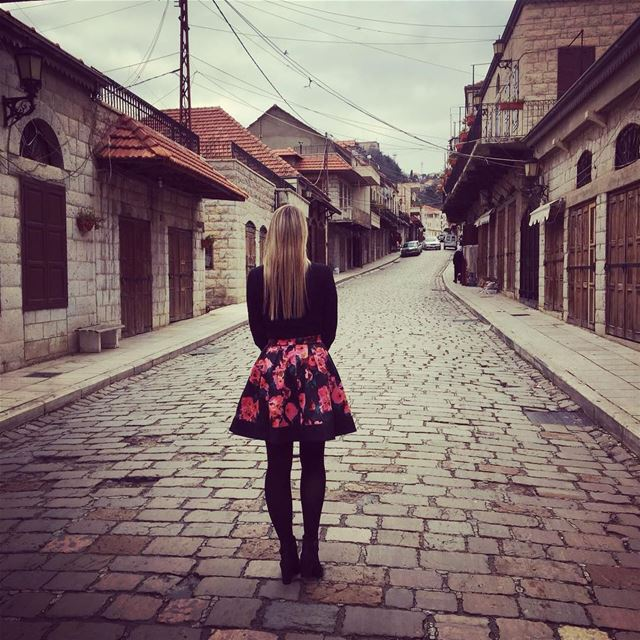 Once in a while right in the middle of an ordinary life ...she dreamed... (Rashayya, Béqaa, Lebanon)